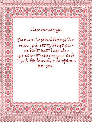 DVD Tao Massage - BÖCKER & FILMER